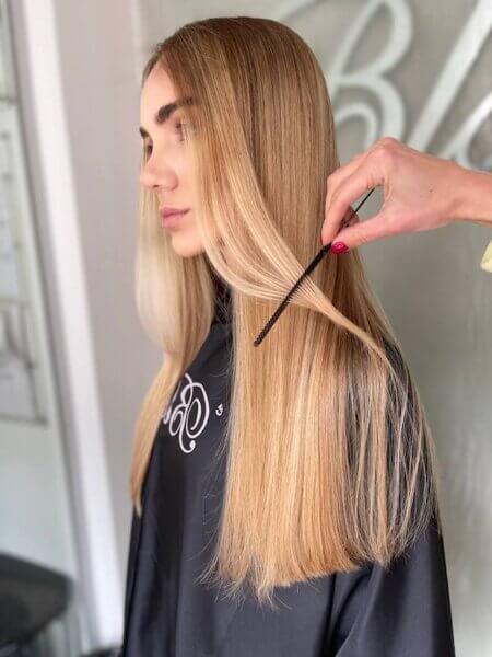 Окрашивание волос в Киеве